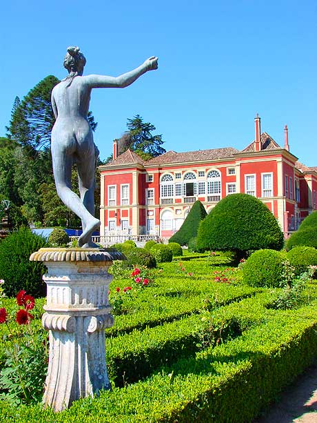 Fronteira palace in Lisbon